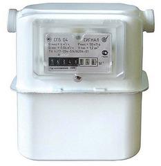 Счетчик газа СГБ G4-1 бытовой диафрагменный